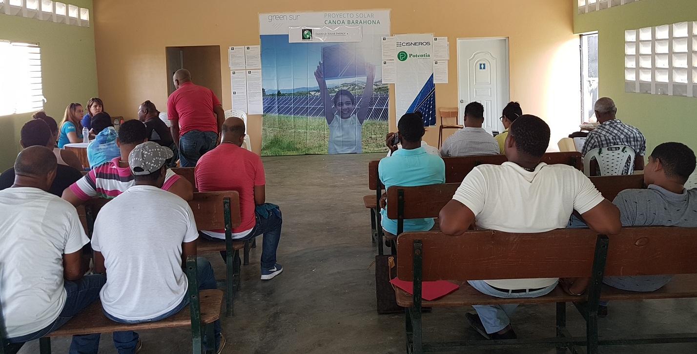 Juez de Barahona autoriza a Emerald Solar a seguir obras del parque de energía en Vicente Noble